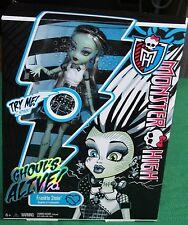 Monster High Ghouls Alive Frankie Stein New Unopened NIB Mattel doesnt work Doll