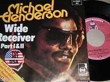"7"" - Michael Henderson / Wide Receiver Part I & II - PROMO 1980 # 2527"