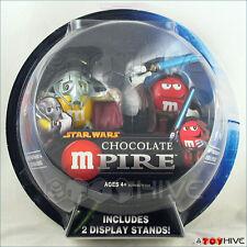 Star Wars Chocolate General Grievous and Obi-Wan Kenobi M&M sealed package