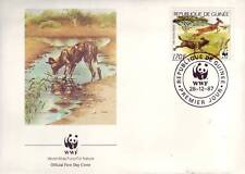 631+ FDC ENVELOPPE 1er JOUR ANIMAUX SAUVAGES GUINEE