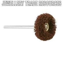 JEWELLERS SATIN FINISH POLISHING BRUSH WHEEL JEWELLERY