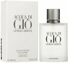 Acqua Di Gio By Giorgio Armani Eau De Toilette Pour Homme 3.4 OZ 100 ml For Men.