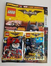 NEW THE LEGO The Batman Movie SPECIAL LIMITED EDN MAGAZINE ED 4 #4 + 2 MINIFIGUR