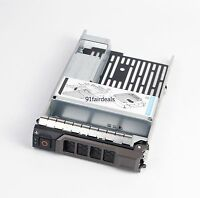 """2.5"""" to 3.5"""" HDD Adapter Hard Drive Tray Caddy SATA SAS For Dell POWEREDGE T330"""