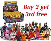 LEGO BATMAN MOVIE SERIES 1 71017 AND 2 71020 MINIFIGURES CHOOSE YOUR MINIFIGURE