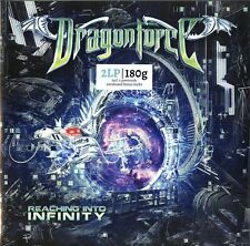 DRAGONFORCE REACHING INTO INFINITY DOPPIO VINILE LP 180 GRAMMI NUOVO SIGILLATO !
