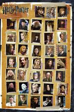 """Harry Potter Parts 1-8 - Movie Poster / Print (All Characters) (Size: 24"""" X 36"""")"""