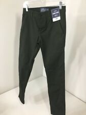 TOPMAN MEN'S SKINNY FIT CHINOS FOREST GREEN 28X32 NWT $50