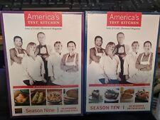 Americas Test Kitchen: Seasons 9 & 10 (DVD) NEW!