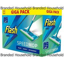 1 X FLASH SPEEDMOP GIGA PACK ALL IN ONE SPEED MOP + 60 WET MOPPING CLOTH REFILLS