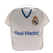 Real Madrid Football Club Kit Lunch School Meal Lunch Box Kit Boys Sports Bag
