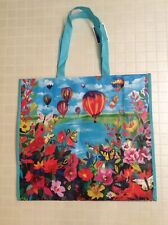 NEW Marshalls Large Shopping Tote Bag ~ Hot Air Balloons ~ Reusable Eco Friendly