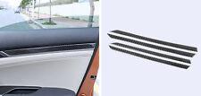 Carbon Fiber Interior Inner Door Cover Trim 4pcs For Honda Civic 10th 2016 2017