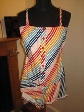 Paul Frank stripe playsuit jumpsuit 8-10 RP£60 new