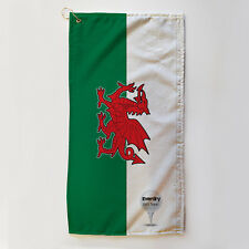 Golf Towel Everdry Microfiber Plus - Welsh Flag - 63x30cm Accessory Gift