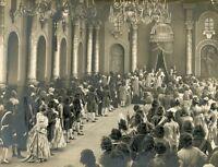 BERNHARD GOETZKE DAGNY SERVAES EMIL JANNINGS PETER DER GROßE 1922 VINTAGE PHOTO