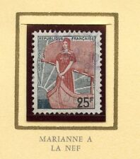 STAMP / TIMBRE FRANCE OBLITERE N° 1216 MARIANNE A LA NEF