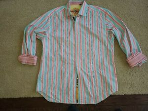 Robert Graham XL mens button down long sleeve 81913 knowledge wisdom truth