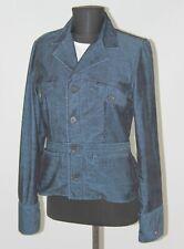1071-2 Tommy Hilfiger Navy Women/'s Open Front 2-Pocket Jacket Blue 12 $98