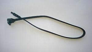 S-ATA HDD KABEL SATA WINKEL RUNTER GEWINKELT 90° neunzig Grad 0,4m 40cm schwarz
