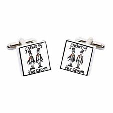 Sonia Spencer Father of the Groom Wedding Cufflinks, Wedding Party, RRP £27