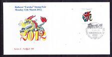 Australia 2012 Ballarat Eureka Stamp Fair Souvenir Cover Series - 4