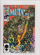 New Mutants #47 VF/NM 9.0 Marvel Comics 1986 BWS Cover Magik Sunspot Magma