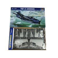 02233 1/32 Aircraft Model Kit DIYS TBF-1C Avenger Plastic Attack Toys Trumpeter