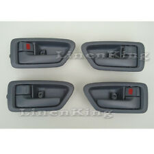For Inside Door Handle Front Rear Left Right Set 4 Gray 97-01 Toyota Camry
