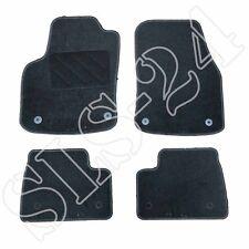 Passform Autoteppich Fußmatten Fußmatte für Opel Corsa E ab2014 4-teilig schwarz