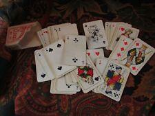 ancien mini jeux de cartes patience luxe no 37