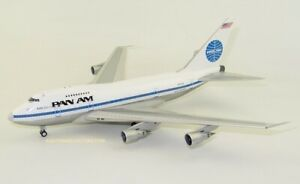 """1:200 INF200 Pan Am Boeing 747SP-21 """"CLIPPER KISS SP"""" N532PA Polished W/ Stand"""