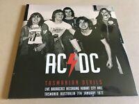 TASMANIAN DEVILS  by AC/DC  Vinyl Double Album  PARA204LP LTD RARE LIVE TRACKS