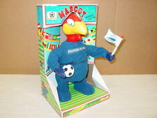 Soccer Mascot Bird France Sport Ball World Cup 1998 Dancing Woodpecker OLE OLE