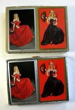 1940s 2 Double Deck Pin Up Girl by Erbit Congress Playing Cards