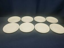 Corelle All- White BREAD/SALAD PLATES Set of 8. Very good condition.