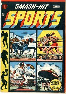 Smash - Hit Sports  # 10    VGF     January 1949    LB Cole cover    See photos