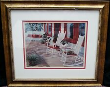 """Georgia Janisse """"Afternoon Sun"""" Signed Lithograph Print LE #7/250 19x22"""" B3768"""