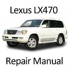 Lexus LX470 1998-2007 Workshop Service Repair Manual