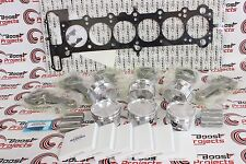 CP Piston BORE 85mm CR 8.5:1 & Eagle Rods & Cometic Head Gasket Set for BMW M54