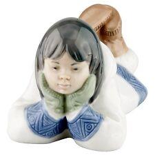 Lladro Nao Inuit Eskimo Girl #1298