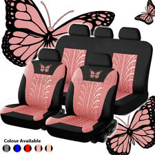 9Pcs Universal Auto Seat Covers Car Truck SUV Van Protectors Front & Rear Row