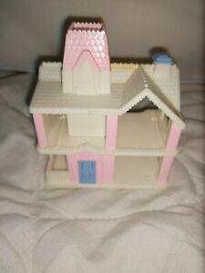 1990 Playschool Mini Dollhouse Plastic NICE PIECE