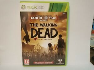 The Walking Dead Microsoft Xbox 360 Complete With Manual