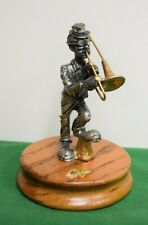 Ron Lee's Hobo Band Collection Tuba Player Pewter Statue Figurine - Mint in box