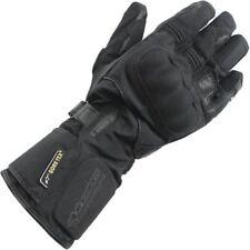 Guanti in tessuto nero per motociclista taglia M