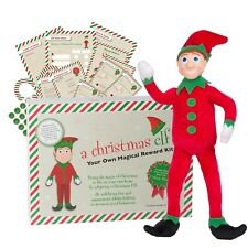A Christmas Elf - Magical Reward Kit *Bendable Arms & Legs* Can Sit on the Shelf