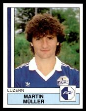 Panini Football 88 (Swiss) Martin Muller Luzern No. 109