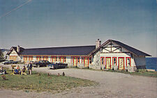 Motel Hotel Belle Plage MATANE by the sea Bas St-Laurent Quebec Canada Postcard