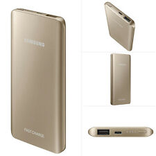 Genuine Samsung Galaxy S8/S8+/8/5/4/S7 Slim Fast Note CARICABATTERIE POWERBANK 5200mah